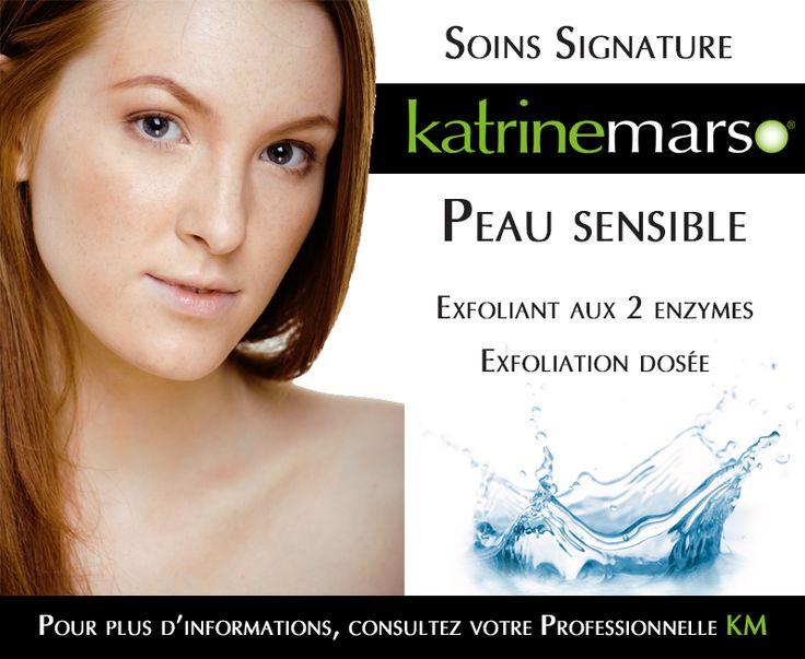 Soins signature pour peau sensible www.katrinemarso.com