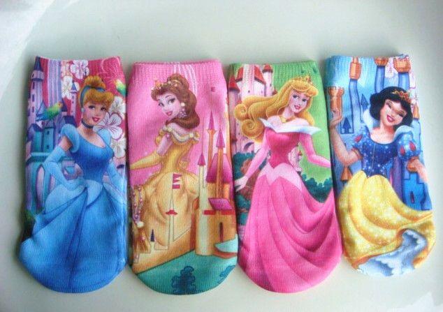 Прекрасные дети в носки девочки-младенцы комикс носки детский версии снег белый узор хлопок носки 24 pair/lot
