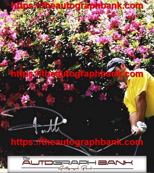 This is a beautiful autograph of Paul Casey. All of our autographs were obtained inperson and come with a Certificate of Authenticity. To see more check us out on theautographbank.com