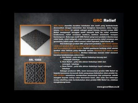Katalog Produk GRC ARTIKON 2016 ⋆ GRC Artikon Indonesia
