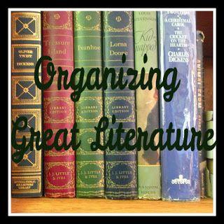 Organizing Literature: High School Level | Harmony Fine ArtsHarmony Fine Arts