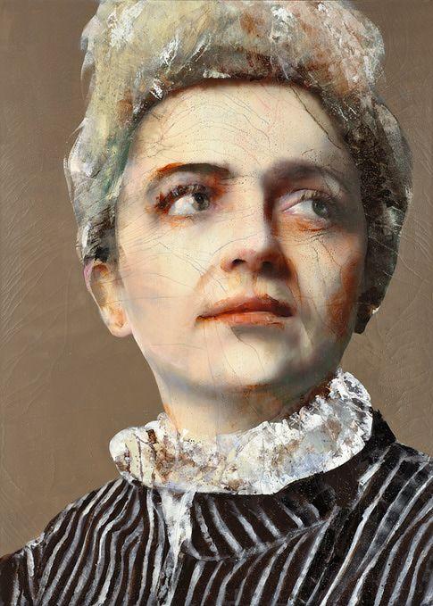 Lita Cabellut - Marie Curie
