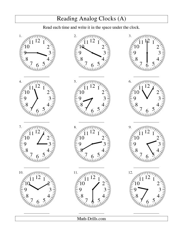 Best    Images On   Telling Time Maths