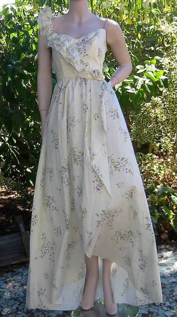 Vintage Summer garden party dress
