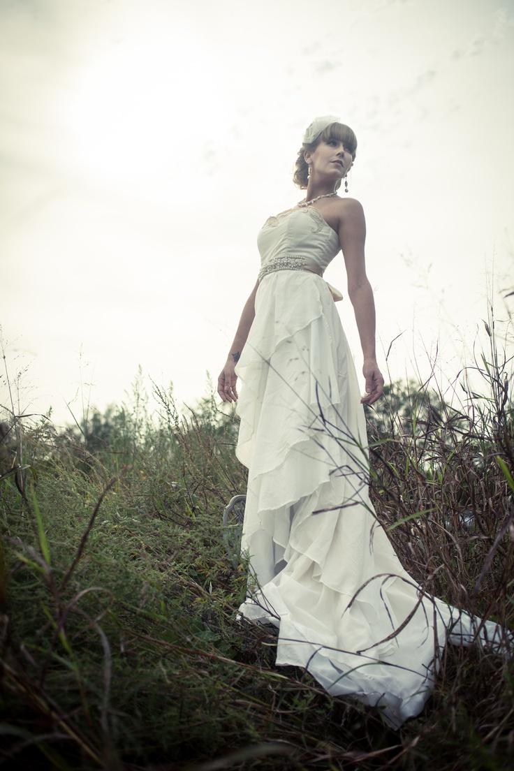 172 best sustainable wedding inspiration images on for Organic cotton wedding dress