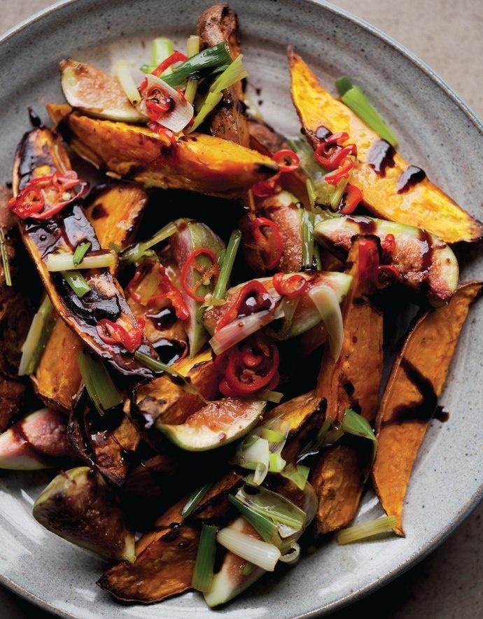 Roasted Sweet Potatoes & Fresh Figs Easy Eats - November/December 2012 ...