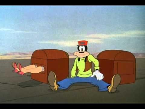 Гуфи   Непослушный багаж 1941    Американский детский мультфильм