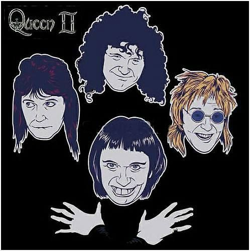 Stevie Riks Re-Imagined Album Series No7 - Queen II