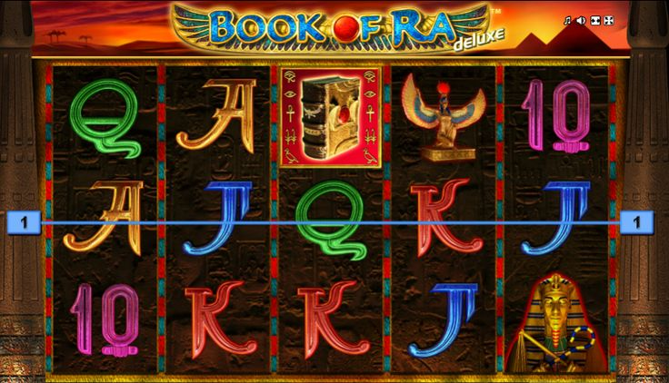 Book of Ra is the most popular Novomatic slot machine game, receiving thousands of great reviews and acclaims from players all over the world. It is based on the omnipresent Ancient Egypt theme and even if the ground is not original, the game itself surely is. The well designed adventurous storyline makes this online casino game to really stand out of the crowd of similar online casino games.  http://www.deluxecasinobonus.com/games/book-of-ra-deluxe/