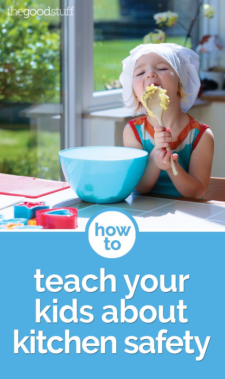 How to teach your kids about kitchen safety kid safety for 6 kitchen accidents