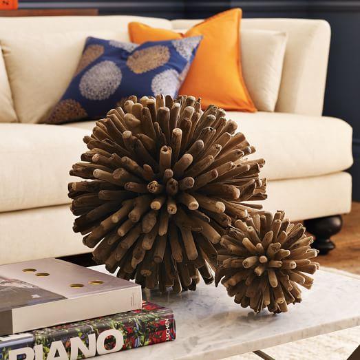 Weathered Wood Spheres | west elm