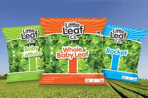 Packaging: The Little Leaf Co. Salad bags...  Sold in ASDA