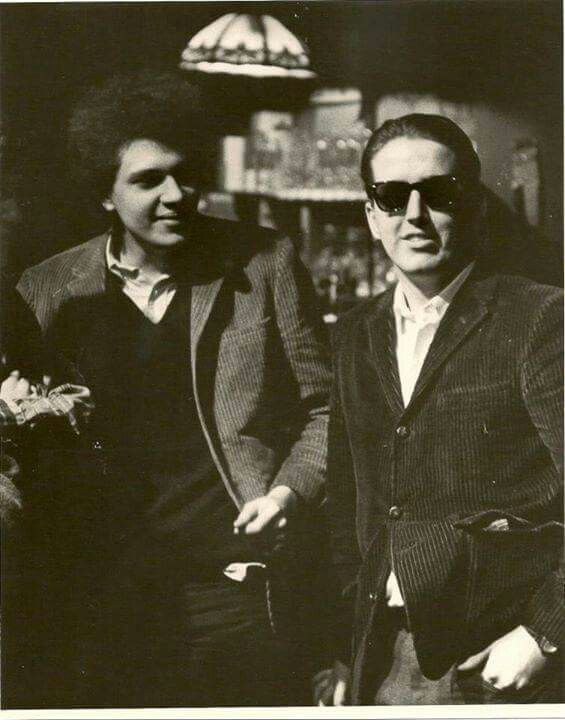 Mike Bloomfield and Paul Butterfield
