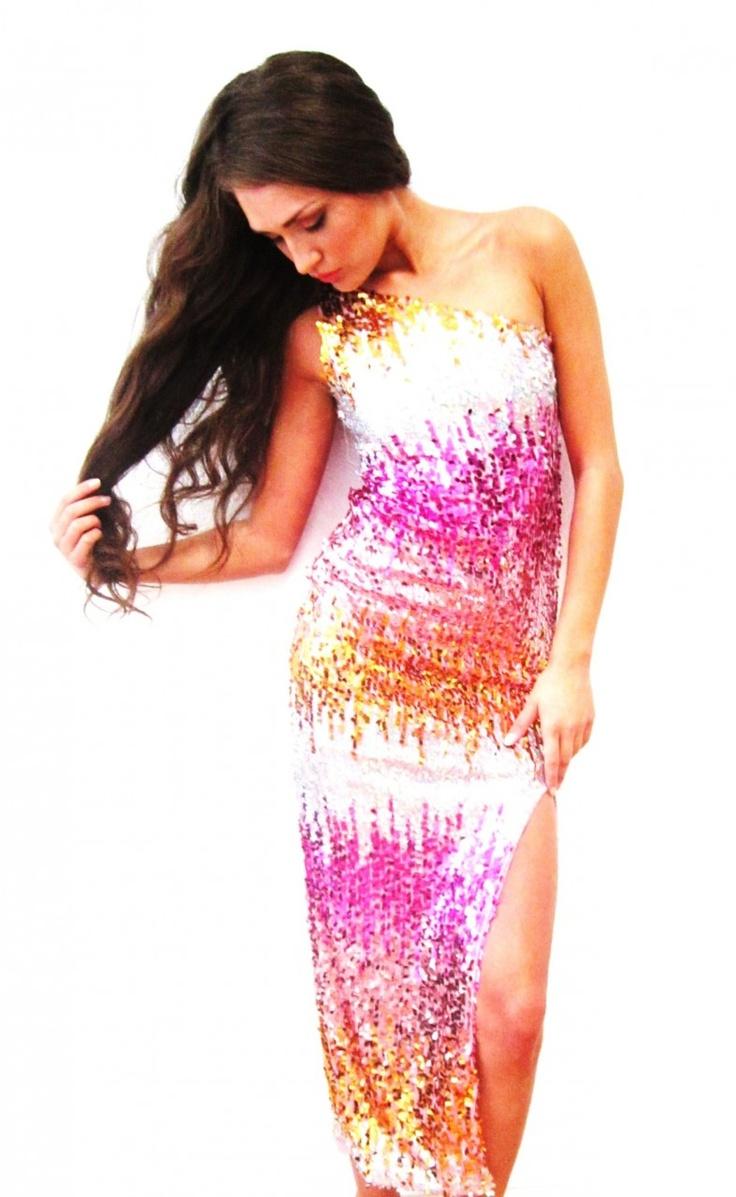 plus size pink sequin dress choice image - dresses design ideas