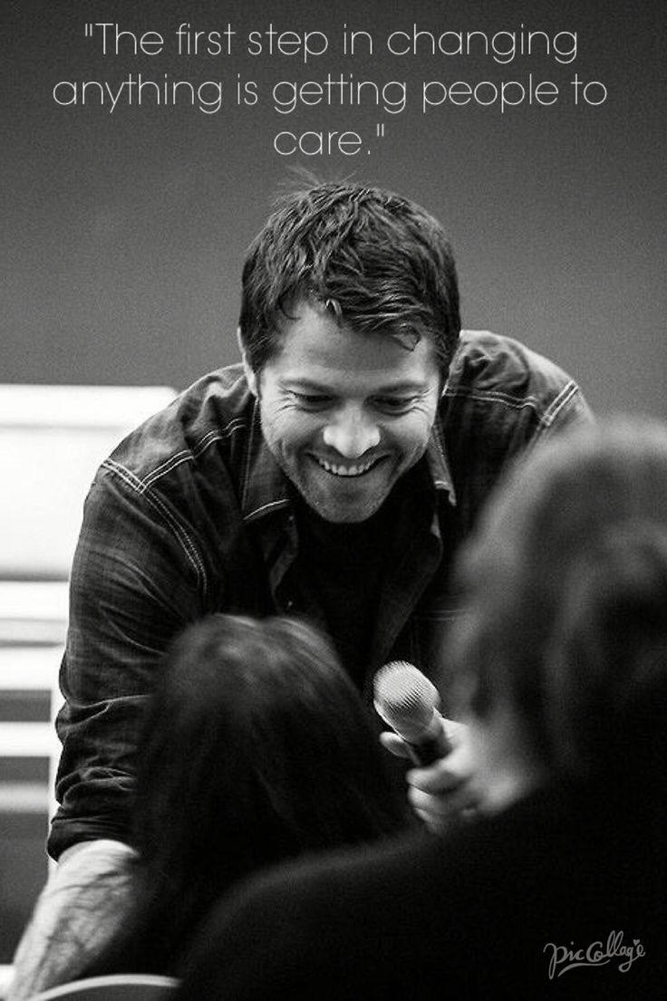 Jared padalecki quotes - Misha Collins
