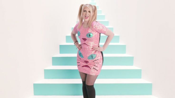 all about meghan trainor's new video.