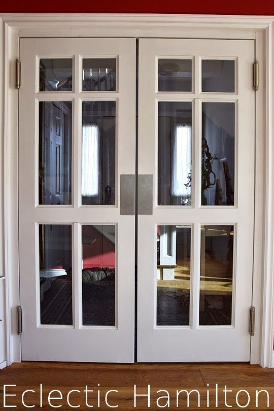 Schwingtüre Pendeltüre Holz Glaskassetten Maßanfertigung Schreiner Swing Door Swinging Door wooden edelstahlblech zweiflügelige Schwingtüren Pendeltüren Diele Eingangsbereich Entrance
