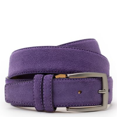 Suede riem: Pure Violet by ColorMeSocks™