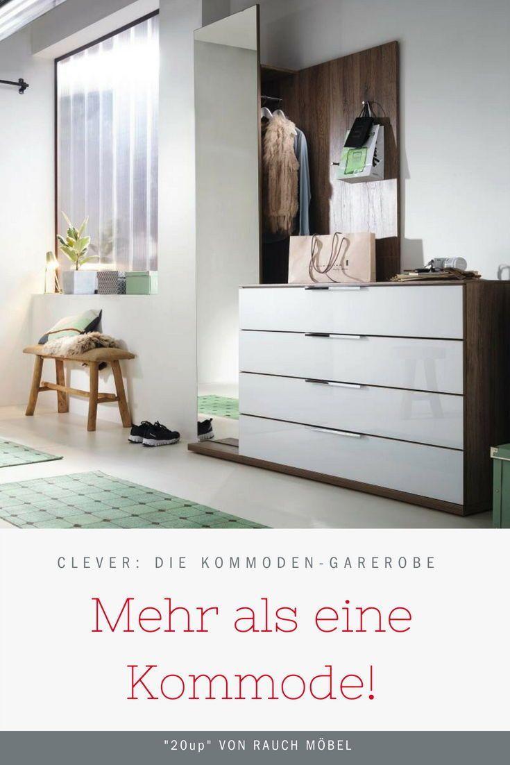 Garderobe Spiegel Und Kommode Harmonisch Kombiniert So