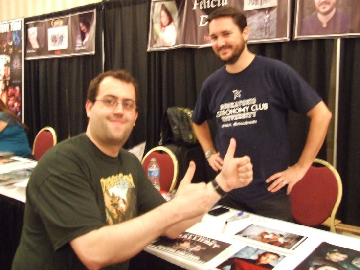 Me with Wil Wheaton