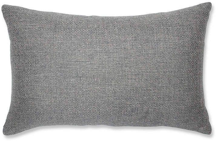 Pillow Perfect Sonoma Pewter Rectangular Throw Pillow Bay Window