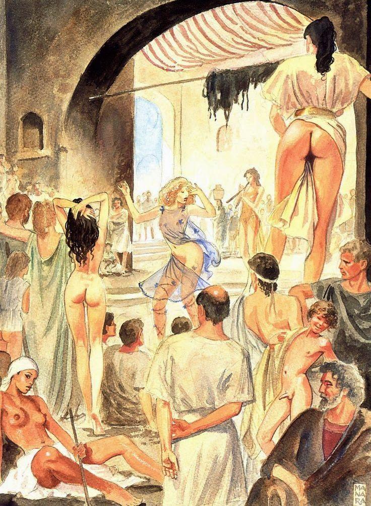 Рабыни в древнем риме видео
