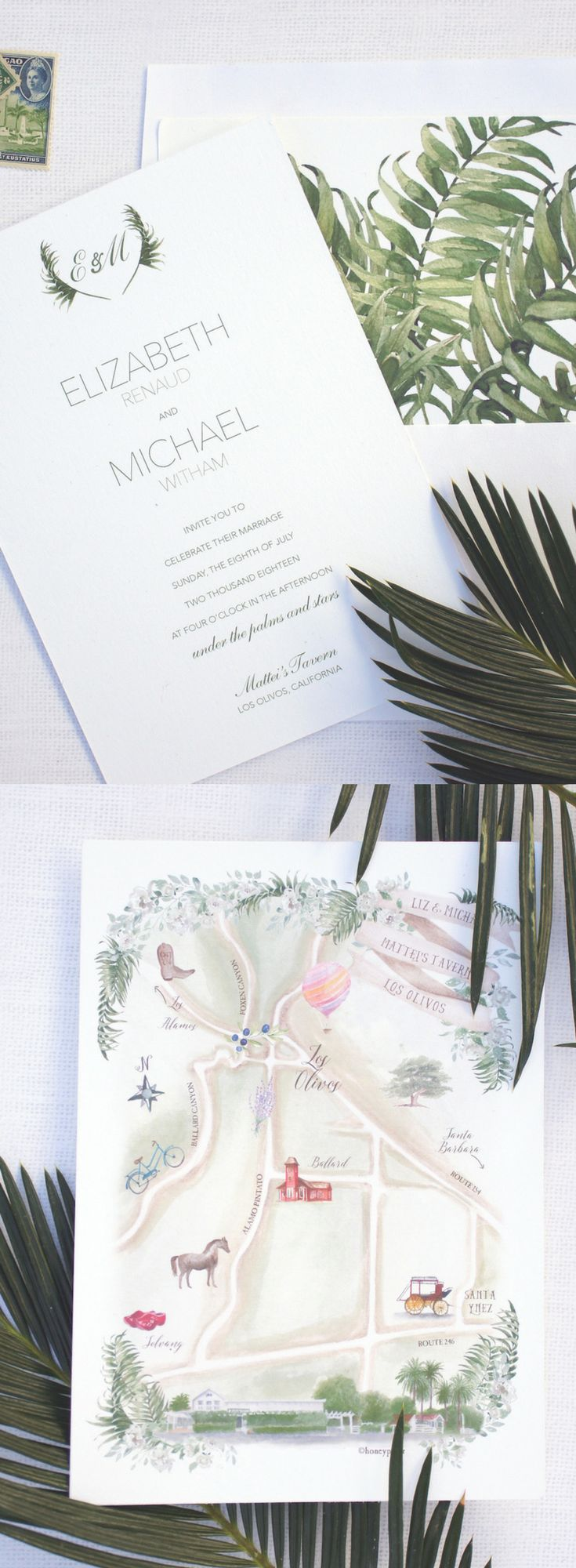 75 Best Watercolor Wedding Event Stationery Images On Pinterest