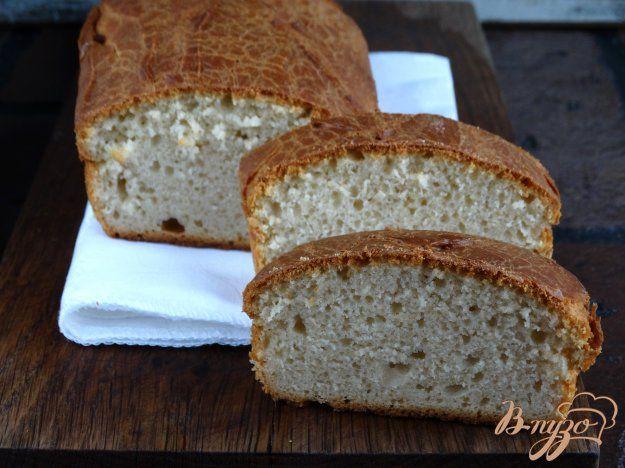 Белый творожный хлеб - пошаговый рецепт с фото