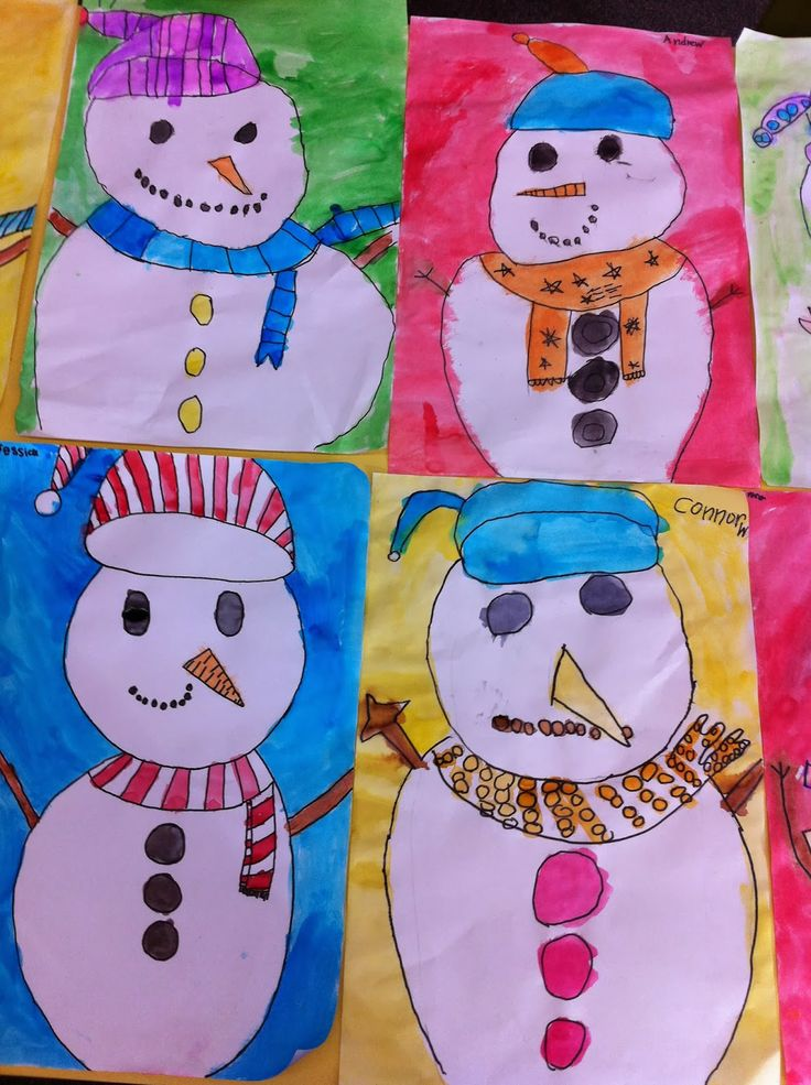 My Winter 2017 Capsule Wardrobe: My Winter Friend Snowman Directed Drawing & Painting On