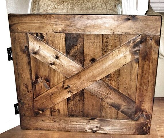 Custom Made Barn Door Style Baby & Dog Gate  by RusticLuxeBoutique, $150.00