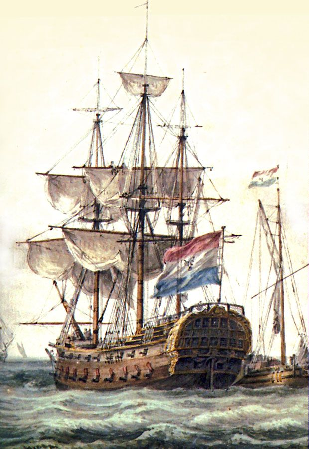VOC schip uit Delfshaven