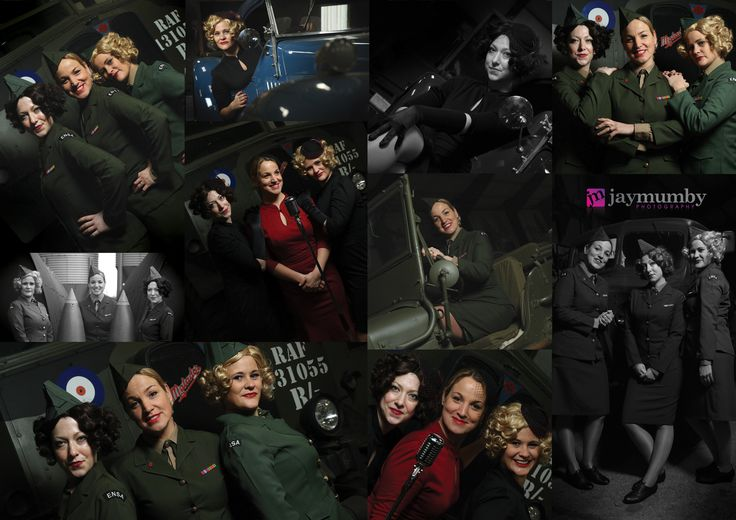 A few promo shots from a shoot with the Covergirls with Tara Thompson at Lincolnshire Aviation Heritage Centre