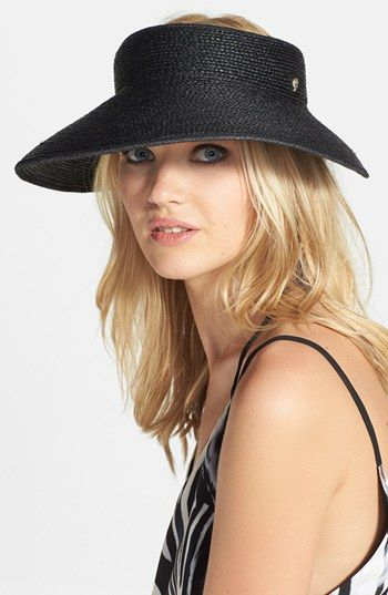 Helen Kaminski 'Mita' Visor available at #Nordstrom
