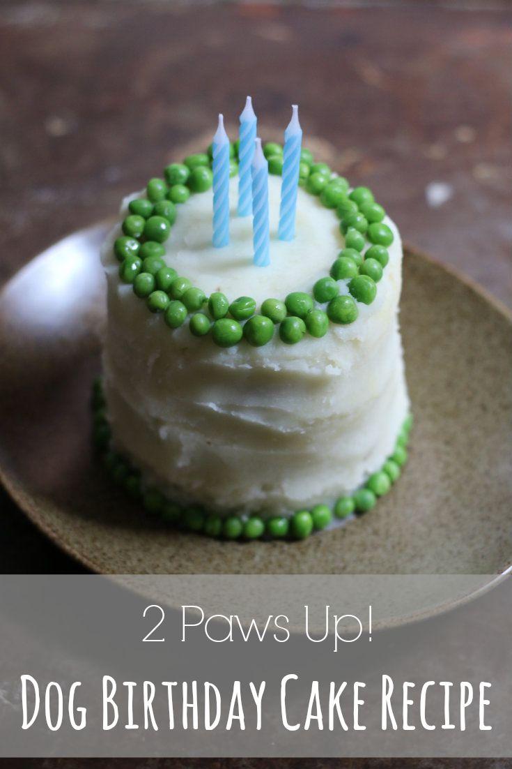 Dog Birthday Cake Recipe — It's like a Shepard's Pie!
