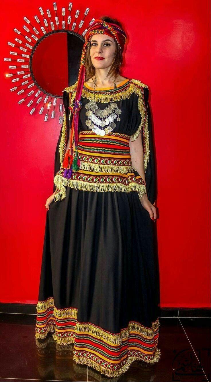 Robe kabyle ~berbère~ Femme Algerienne, Robe Berbere, Tenue Traditionnelle  Algérienne, Photo