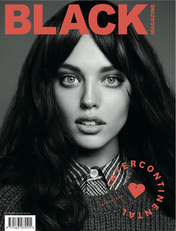 Black Issue #17 - Emily DiDonato cover