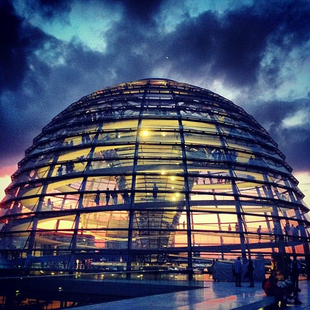 Reichstagskuppel in Berlin, Berlin