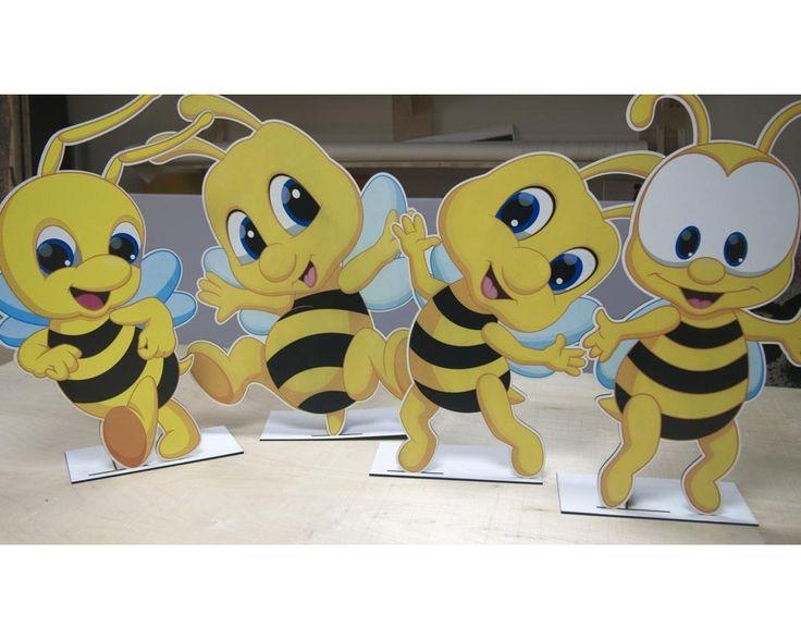 Μελισσούλες!, ξύλινες φιγούρες διακοσμητικές