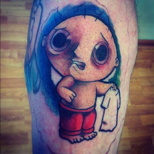 118 best tattoo 39 d lifestyle leg tattoos images on for Family guy tattoos