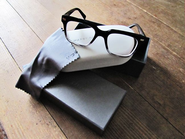 MayDae New Glasses Specs Warby Parker Winston Packaging Love