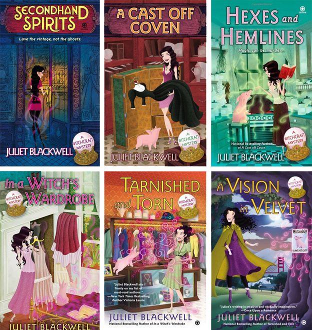 J'adore les livres qui parlent de sorcières. J'adore les livres qui parlent de robes vintage… Il y avait peu de chance que les deux se rejoignent dans un roman et puis un jour je suis tombée sur ça…