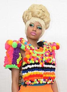 Nicki Minaj. HEY! That looks like that project i made in kindergarten!