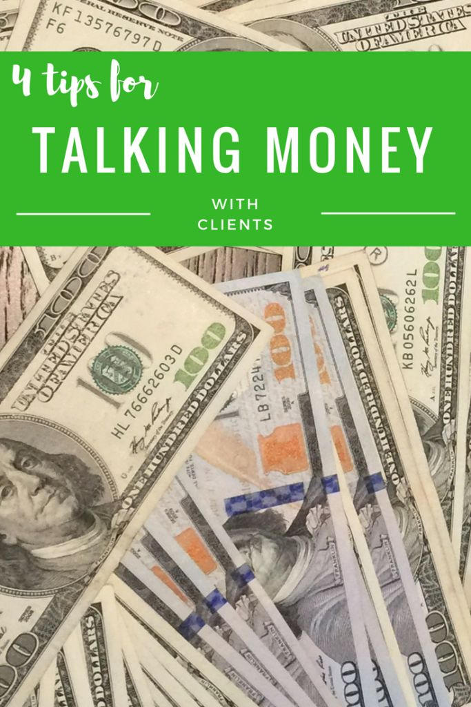Talking money with clients can be daunting for beginning freelancers, so I'm sharing tips to make you feel comfortable talking about your rates.