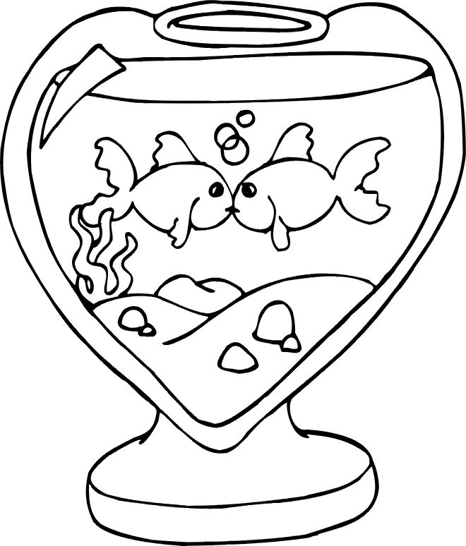 free valentine coloring pictures