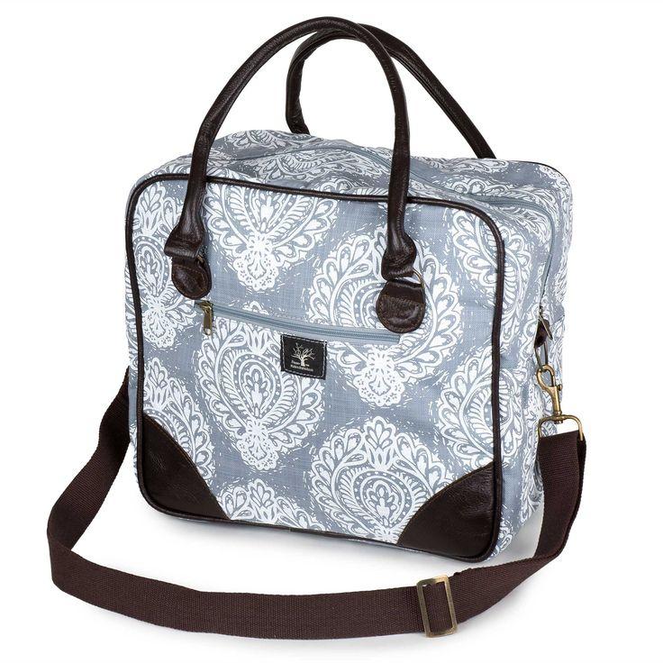 Lino square overnight bag – Lou Hopper