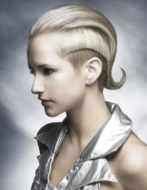 Wella Professional, 2012 Trend, Darla Glover, futuristic look, hairstyle, future fashion, silver, strange, unique, beautiful, amazing, hair by FuturisticNews.com