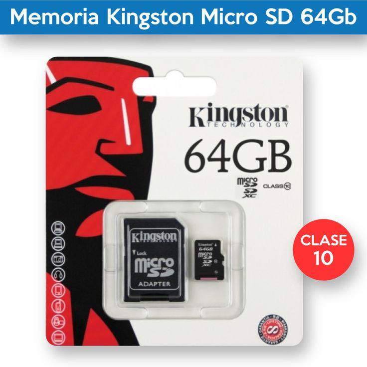 Memoria Kingston Micro SD 64Gb
