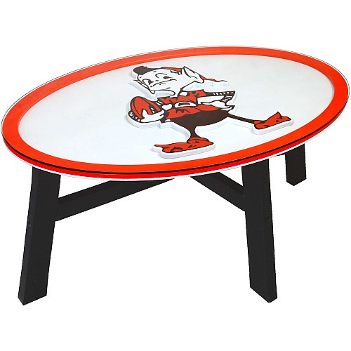 Fan Creations Cleveland Browns Logo Coffee Table