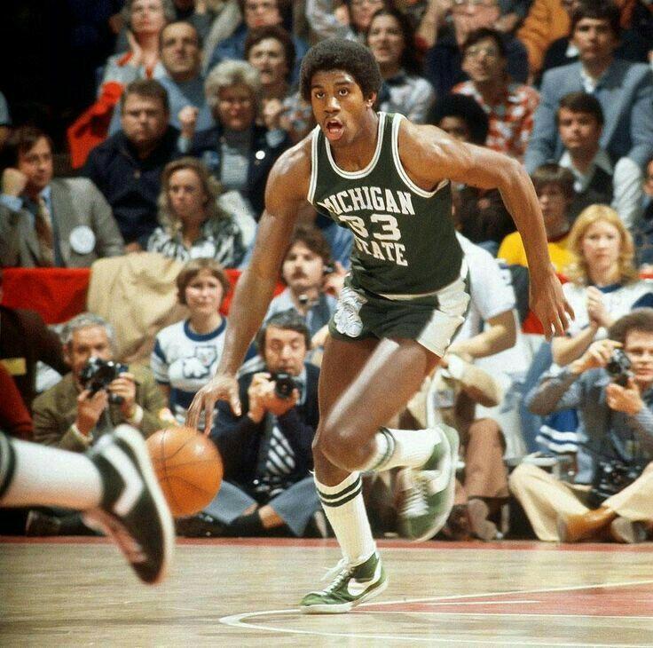 Magic Johnson at Michigan State.