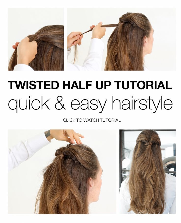 Back to school / work Quick and easy hairstyle tutorial - Back to work, ...